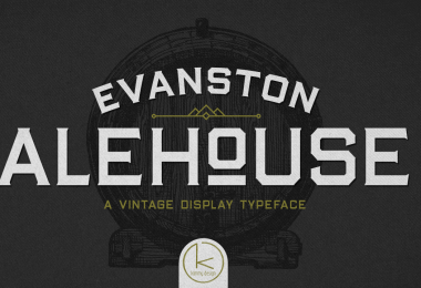 Evanston Alehouse Super Family [25 Fonts]
