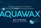 Aquawax Pro Super Family [27 Fonts]