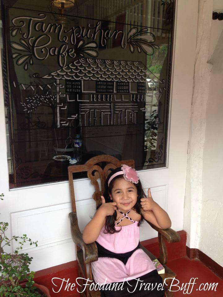 Obviously, a happy visitor! Wala ng tampo.