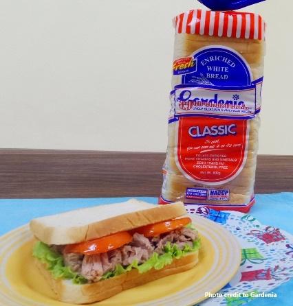Gardenia Oriental Tuna Salad Sandwich