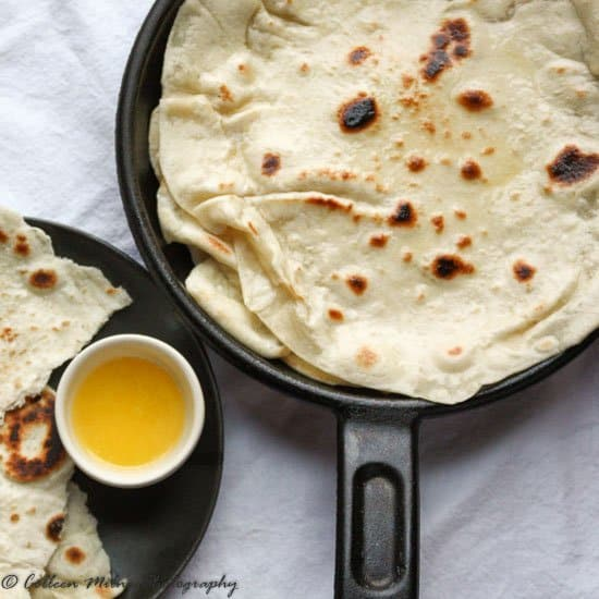 Easy homemade naan bread recipe the food blog how to make this easy naan bread recipe forumfinder