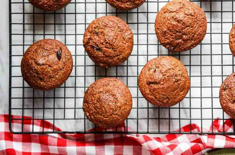 Bacon,Date, Molasses Bran Muffins