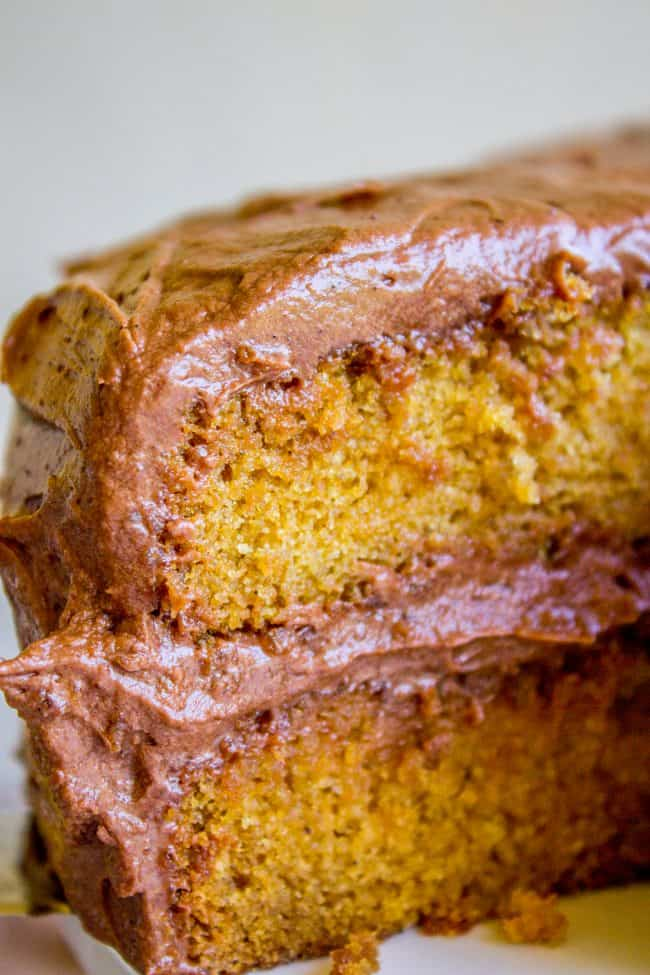 Brown Sugar Yellow Cake With Chocolate Frosting The Food