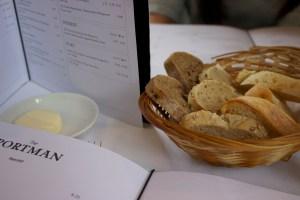 The Portman Marylebone bread basket