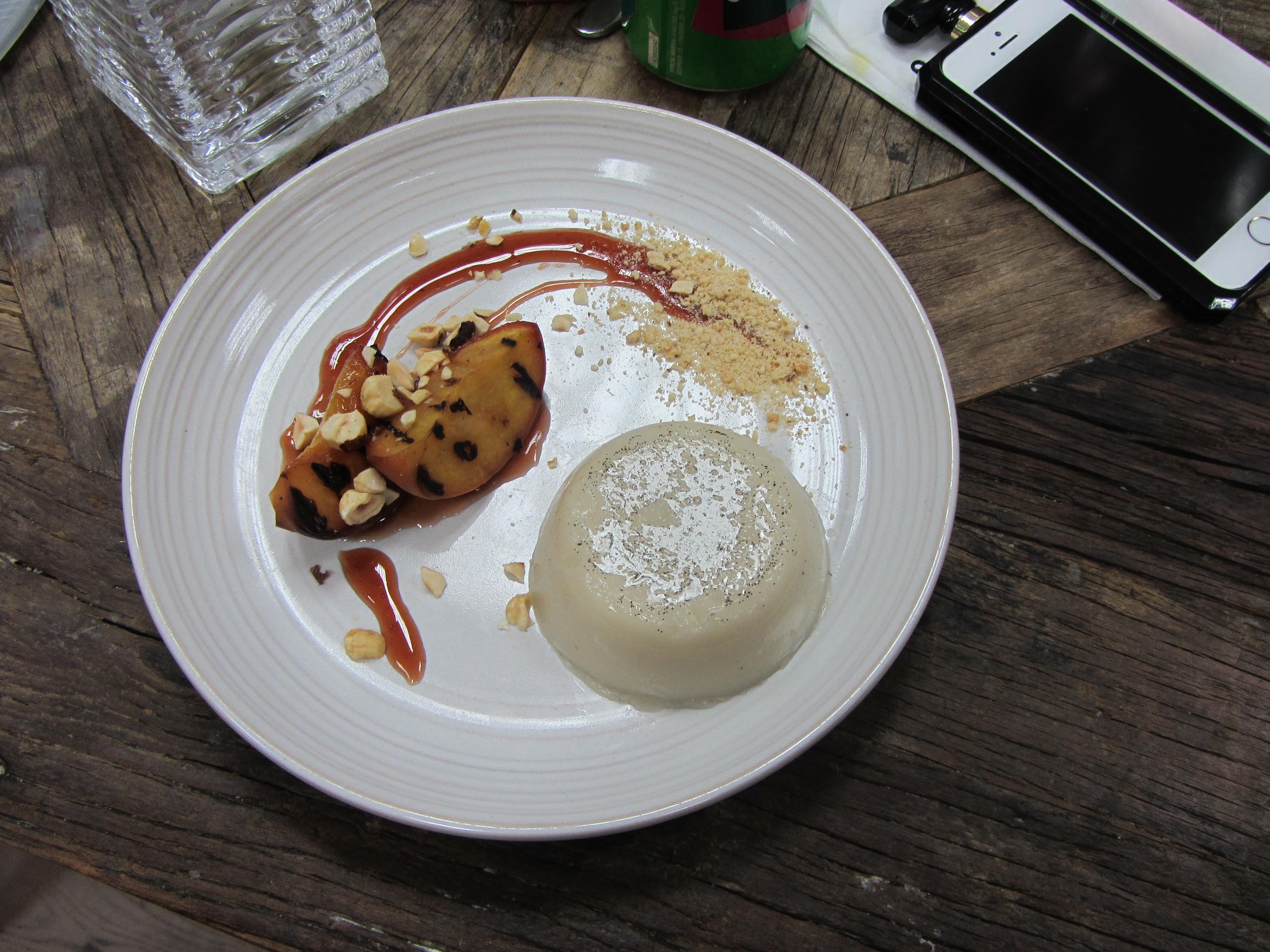 Vanilla and Almond milk Panna cotta