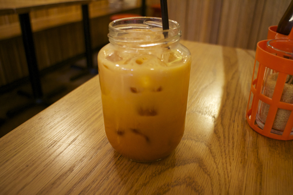 Thai ice tea