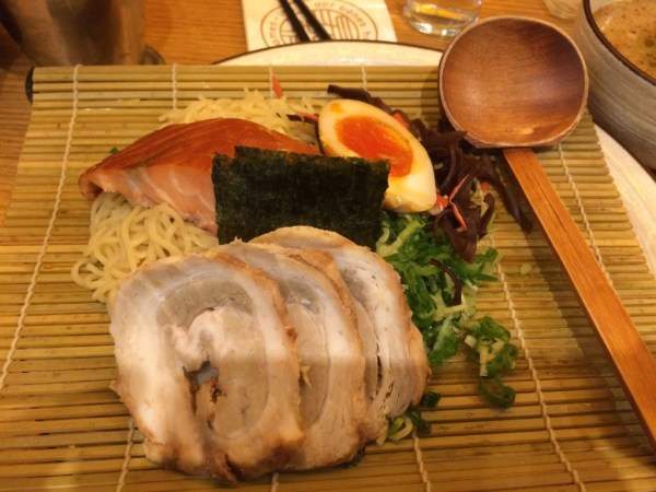 Fire & Ice Salmon Tsukemen