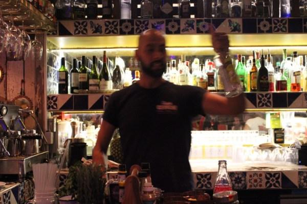 Señor Ceviche barman