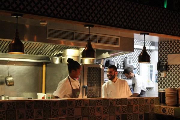 Señor Ceviche kitchen