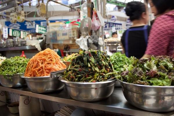 Gwangjang Market-bibimbap