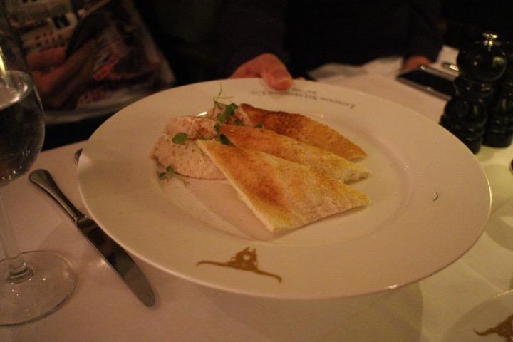 Kipper Pâté with Whisky, Melba Toast