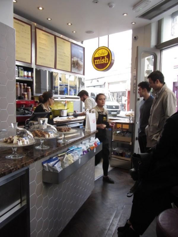 cafe mish inside
