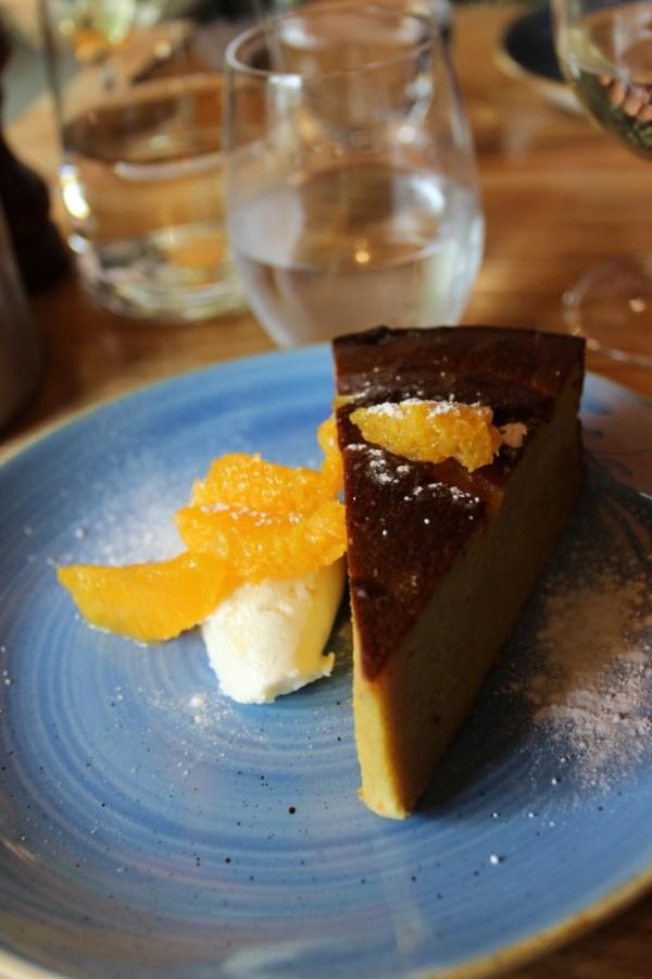 Almond & orange cak