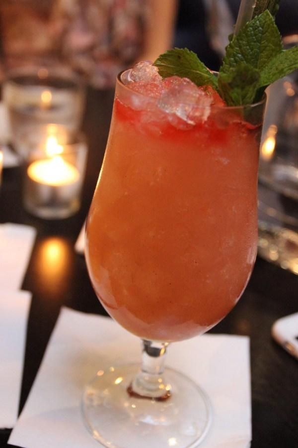 Rhubarb Swizzle