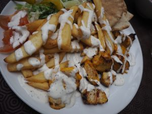 Shandeez - grease free kebabs and chips