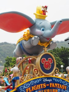 The happiest place on earth - Disneyland Hong Kong