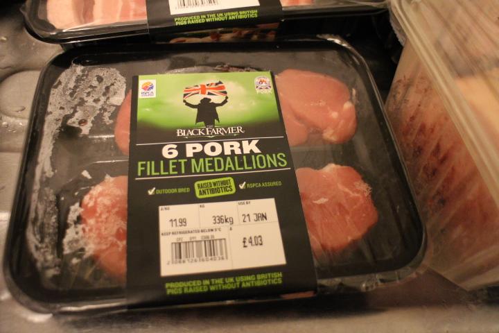 Black Farmer pork medllions