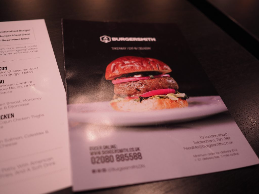Burgersmith-Twickenham-menu