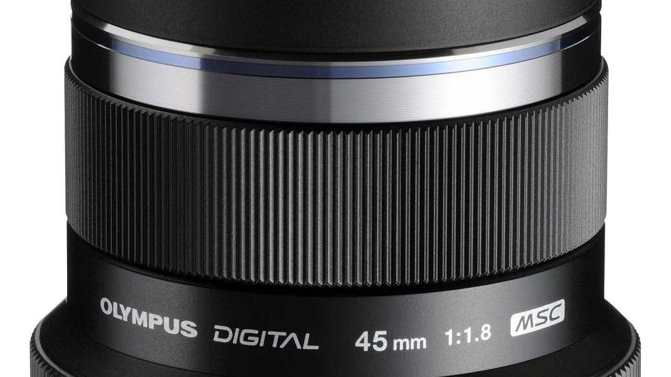Olympus M.ZUIKO DIGITAL 45mm f/1.8G Standard Lens