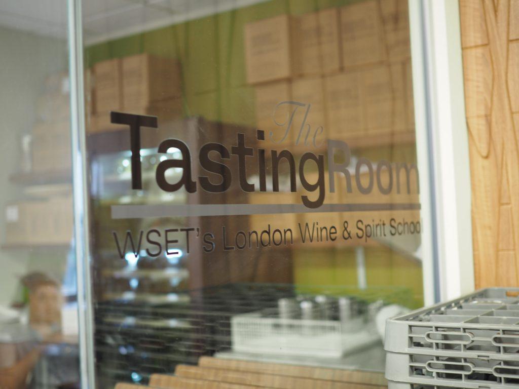 WSET-tasting-room