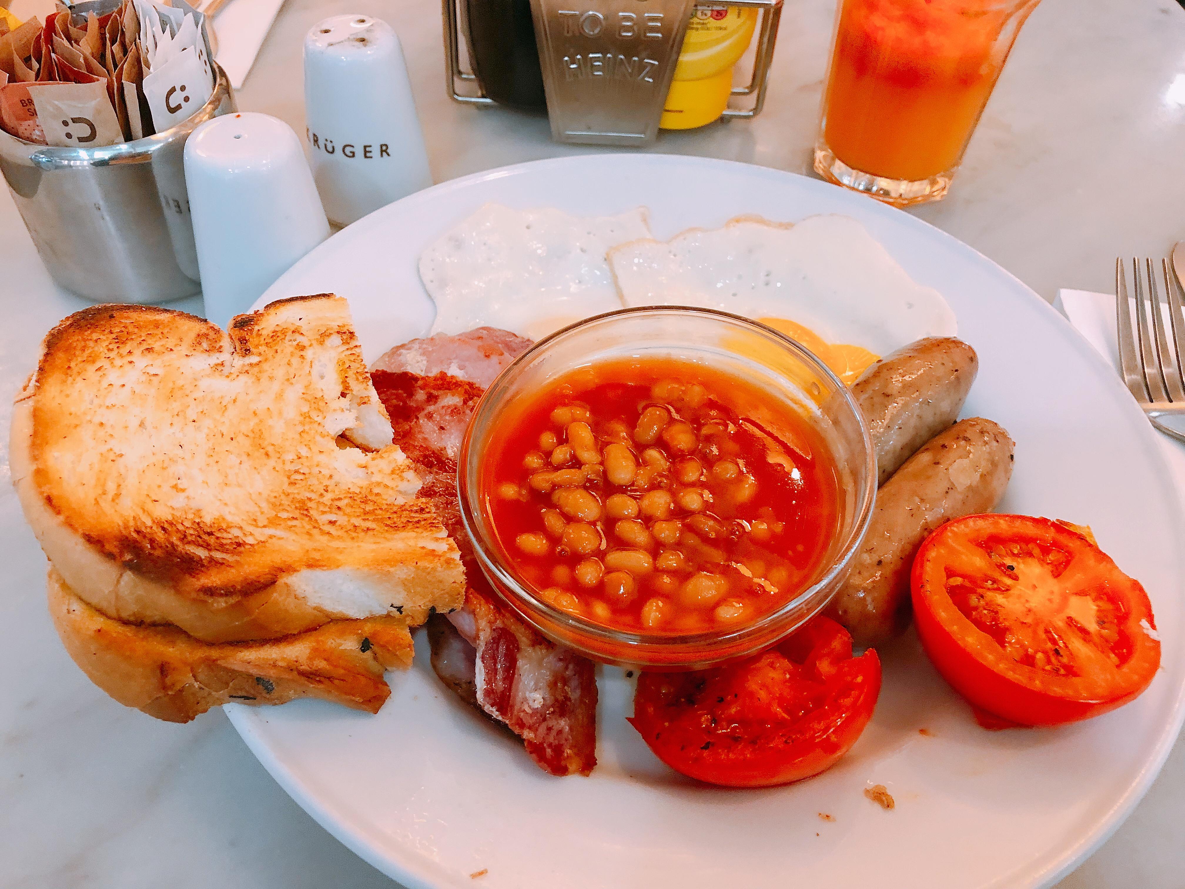 Krüger Full English breakfast