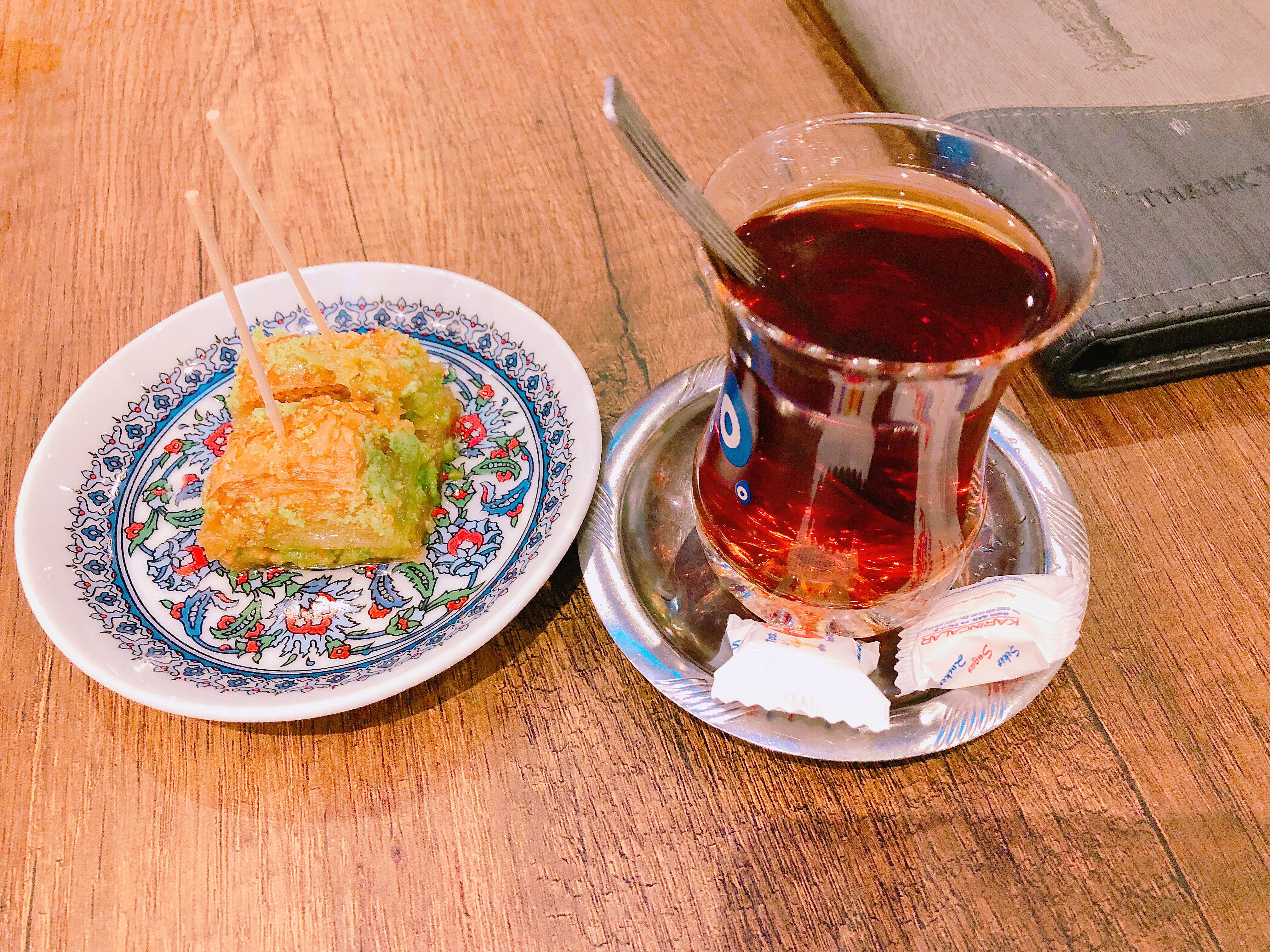 Efes Turkish tea
