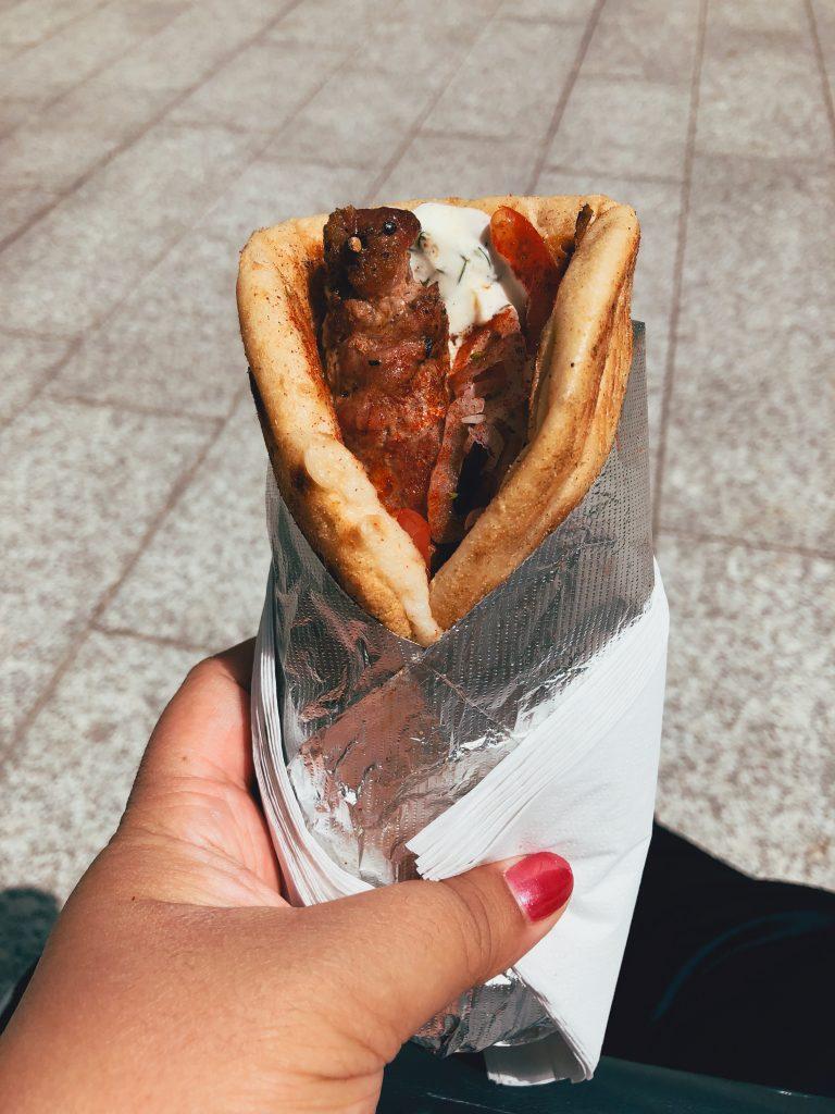 The Grilling Greek Souvlaki wrap