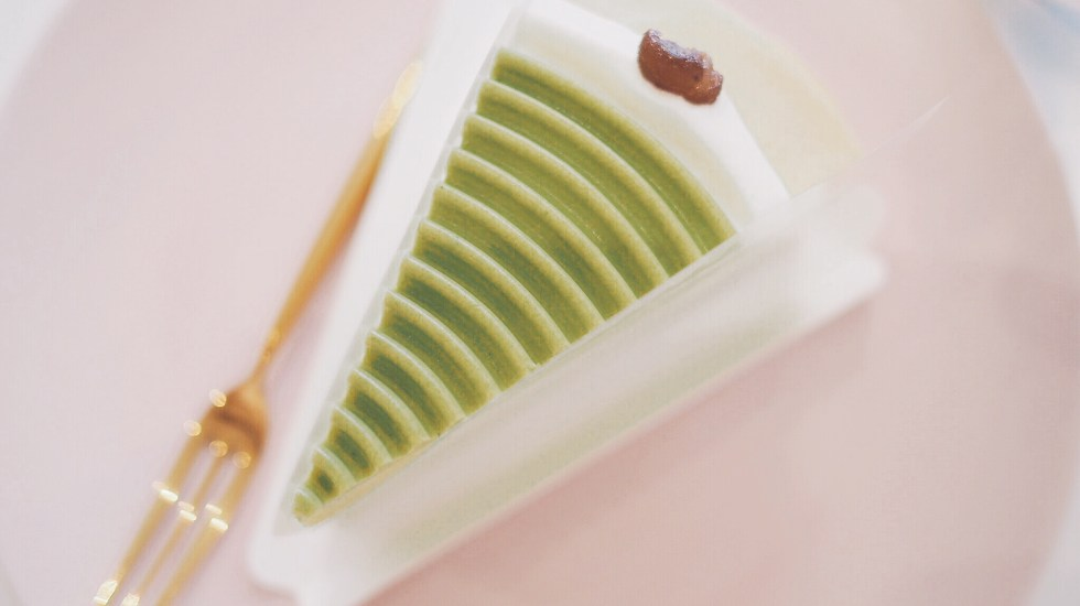 Genmaicha-crepe-cake