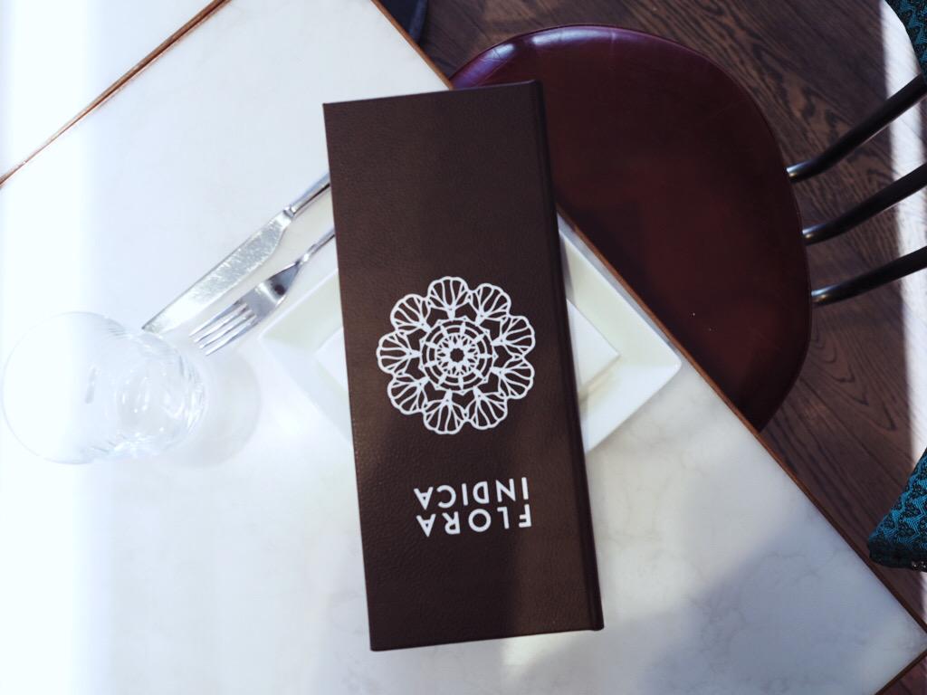 Flora Indica drinks menu