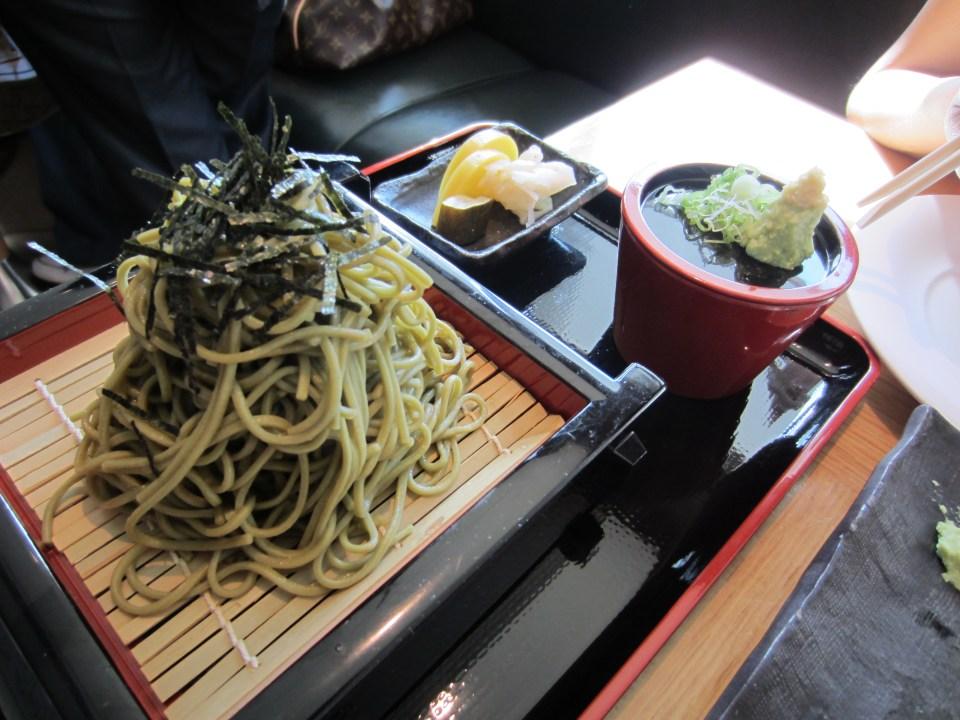 Nobu Soba noodles