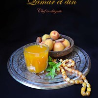 Ramadan drinks, sweet tamarind and qamar el deen