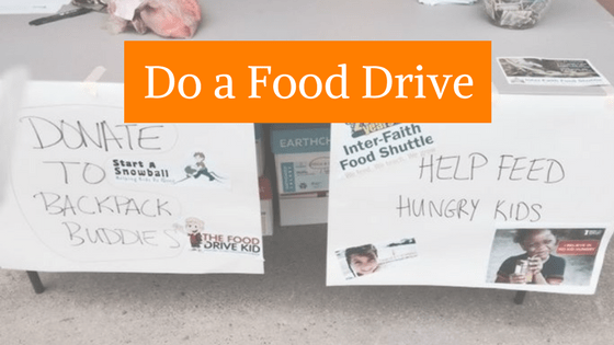 do your own food drive