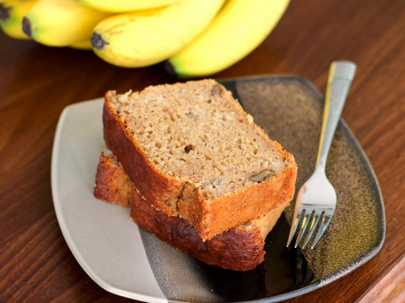 banana bread pound cake recipe picture (chockohlawtay)