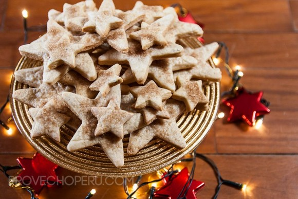 christmas cookies coffee anise biscochitos recipe picture (provecho peru)
