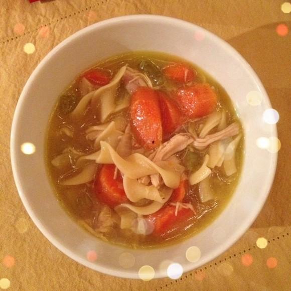 Kitchen Witch Turkey Soup Recipe