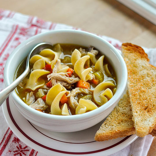 Kitchen Witch Turkey Soup Recipe