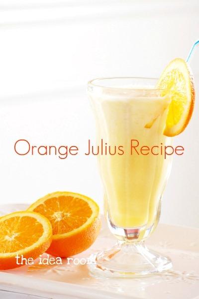 Orange Julius Recipe picture the idea room