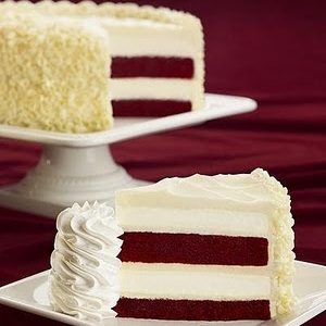 2) Cheesecake Factory's Red Velvet Cheesecake photo