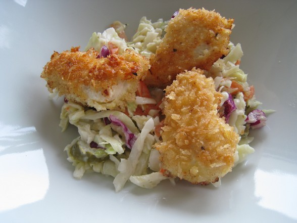 BAKESALE BETTY INSPIRED CHICKEN COLESLAW BOWL recipe picture