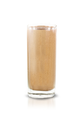 2. Banana almond flax smoothie