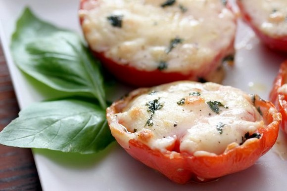 Baked parmesan tomatoes recipe picture 1