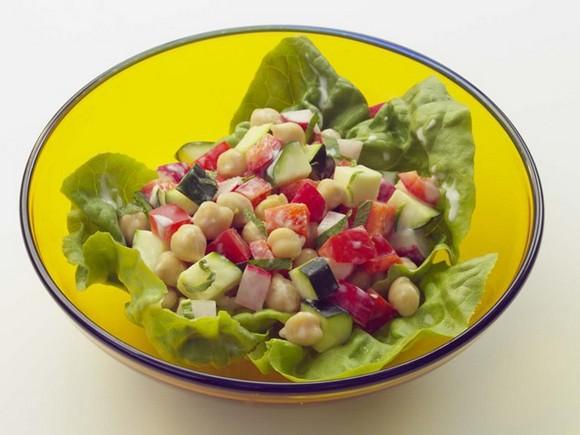 Greek Diner Salad recipe
