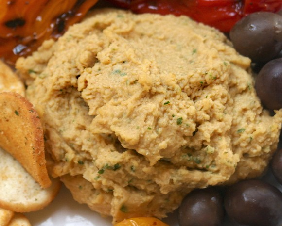 No Tahini Hummus Loaded with Sesame Flavor recipe by Are You Hungry