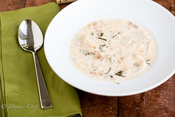 Zuppa Toscana recipe by Dainty Chef