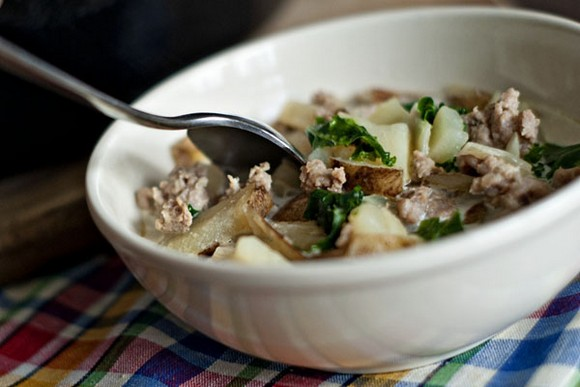 Zuppa Toscana recipe by Heather Likes Food
