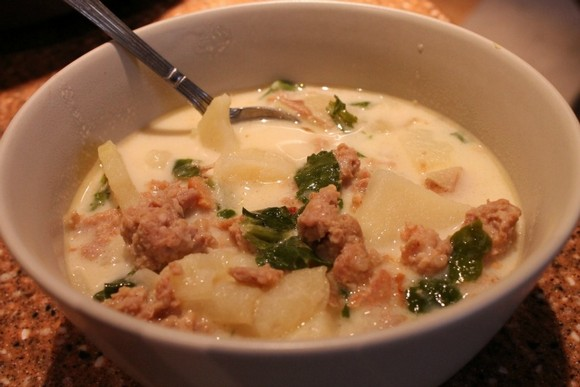 Zuppa Toscana recipe by My Wholesome Home