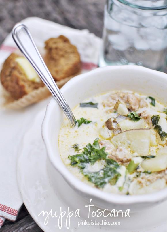 Zuppa Toscana recipe by Pink Pistachio