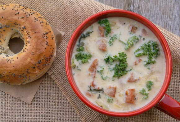 Zuppa Toscana recipe by The Spicy Saffron