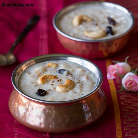 Apple Oats Payasam (Kheer) recipe photo