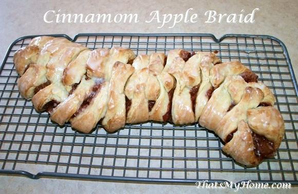 Cinnamon Apple Braid recipe photo